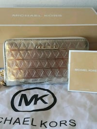 MICHEL KORS, authentique, wallet, cuir neuf Montreal