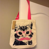 New With Tags Canvas Bag
