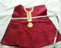 RED COLOR 2 PIECE  HAND WOVEN DASHIKI AND CAP FOR  Owings Mills, 21117