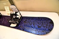 BRAND NEW Flow Elation 151cm snowboard with BRAND NEW Flow Muse rear entry bindings Torrance