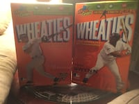 Wheaties Cereal sport boxes
