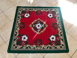 Home accent table cloth lot