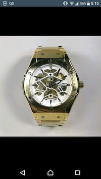 Gold tone plated fully automatic luxury watch men' Toronto, M1H 3G2