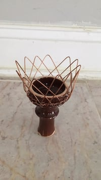 brown and black metal candle holder Cherry Hill, 08002