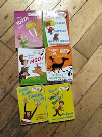 Dr. Suess board books 18 in total  Asking $36.00 for all or $2 each.
