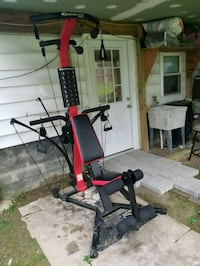 red and black exercise equipment Herndon, 20170