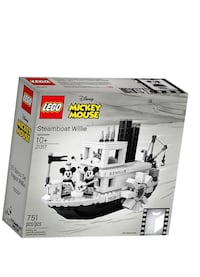 LEGO DISNEY MICKEY MOUSE 21317 STEAMBOAT WILLIE  BRAND NEW ! Toronto, M4W 0A8