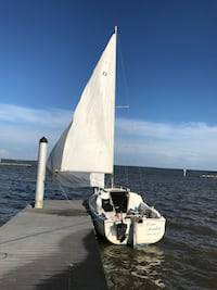 1975 Catalina 22' sailboat Manassas, 20112