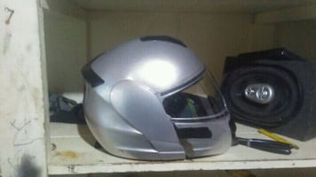 Mint condition DOT APPROVED MOTORCYCLE HELMET