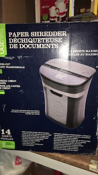Paper shredder machine Montréal, H1S 3B3