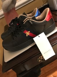 New Black Bee Gucci Sneakers ( Sz 8 US ) no trades Chevy Chase, 20815