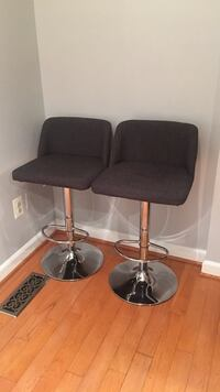 2 Grey bar stool with stainless  Centreville, 20121