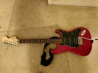 red and black electric guitar Hyattsville, 20783