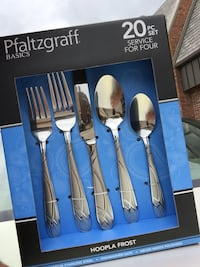 New Pfaltzgraff 20 pc Flatware  Milford, 01757