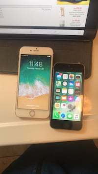 2 iphones unlocked  6s rose gold  5s space grey  Blue Bell, 19422