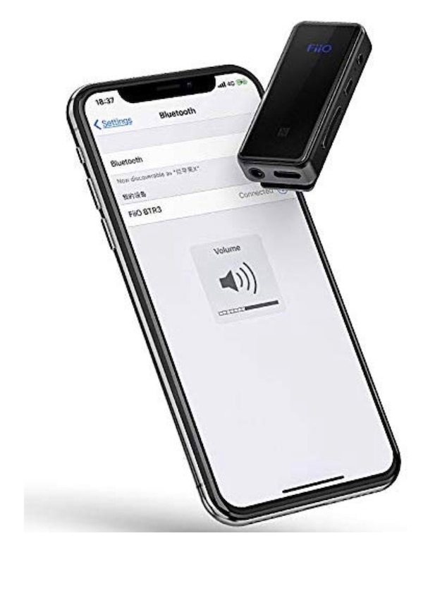 FiiO BTR3 Bluetooth Receiver + DAC for iPhone /Android phone powerful  studio quality sound