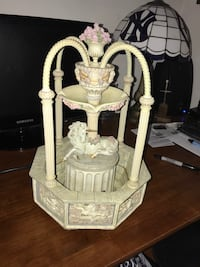 Franklin mint unicorn porcelain fountain Rhinebeck, 12572