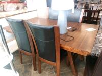 Wood table & 4 chairs on sale  Phoenix, 85018