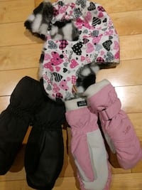 Mittens and Hat, all for 15$