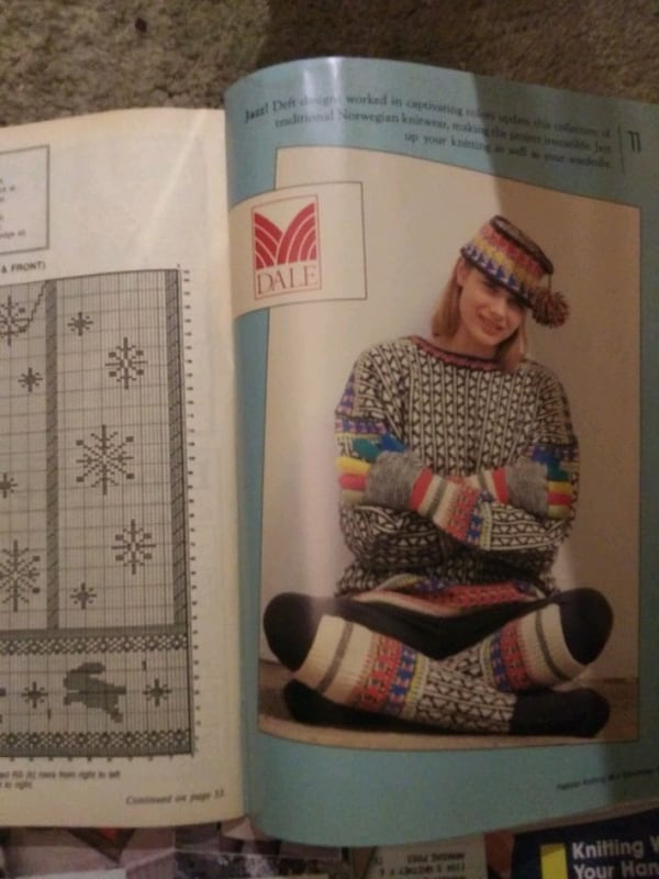 Old knitting magazines from 90's  69d33378-849f-41db-ae69-d18bd13cbd01