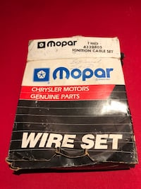 OEM Mopar Restoration Spark Plug Wire Set  Clifton, 20124