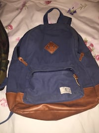blue and brown leather backpack Toronto, M2N 7H1