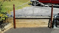 Metal and wood king headboard Mount Airy, 21771
