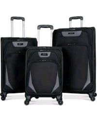 two black soft-side luggage West Chicago, 60185
