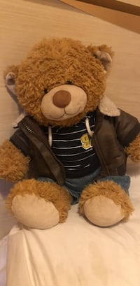 Build a bear  with certificate and clothes 2224 mi