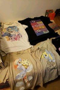 My little pony large adult shirts Beech Grove, 46107