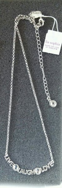 "Lia Sophia Necklace ""LIVE & LAUGH & LOVE "" !!  Manassas, 20110"