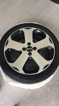 Set of 4 Kia Rio tires with Rims  Brampton, L6V 1E8