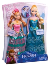 Frozen Doll Set with frozen extras !! Bedford, B4A 2P9