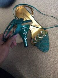 New Green Party shoes