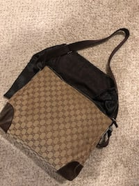 Black and gray monogrammed coach crossbody bag Las Vegas, 89109