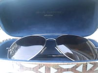 black framed Ray-Ban aviator sunglasses Westbank, V4T 2H2