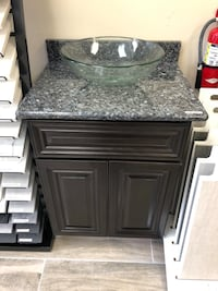 "24"" vanity, with granite top and sink Arlington, 22202"