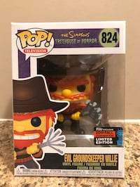 NYCC Evil Groundskeeper Willie - The Simpson's Funko Pop! Pickering