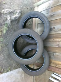 Set of 3 used tires  Brentwood, 94513