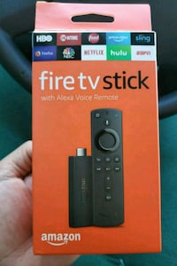 Fire TV stick with Alexa Remote