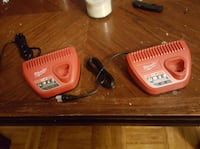 Milwaukee M12 chargers Raleigh