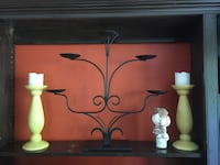 Wrought iron candle stick  Burnaby, V5C 3T8