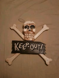 HAND MADE Keep Out door/wall sign (free delivery) Ottawa, K4A 2Y3