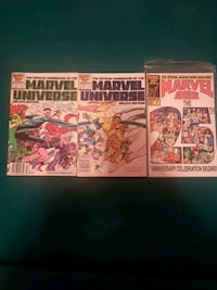 two Marvel Comics comic books Oakville, L6L 5X3
