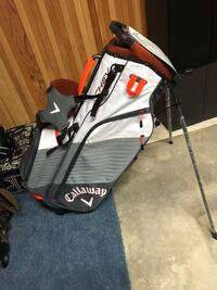 Black and gray golf bag null, R0A 1C0