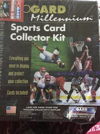 Trading cards collection kit
