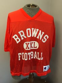 Authentic Cleveland Browns Practice Football Jersey