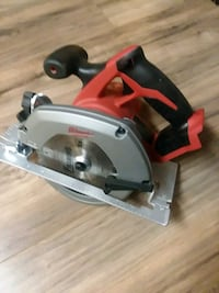 brand-new new Milwaukee cordless circular saw.