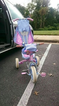purple and pink trike