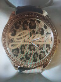 Guess cheetah/leopard print watch Mississauga, L4W 5K6